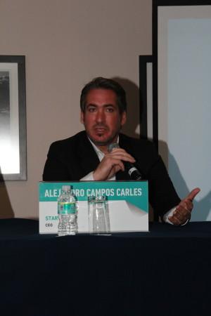 Alejandro Campos Carles, CEO, StartMeApp