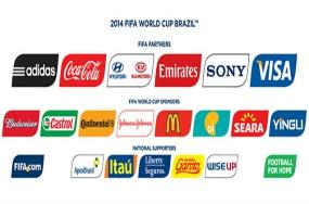 Brasil 2014 - patrocinadores -