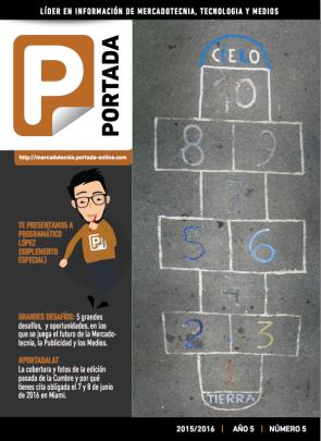 ¡DESCARGA la Revista Digital PORTADA 2015/2016!